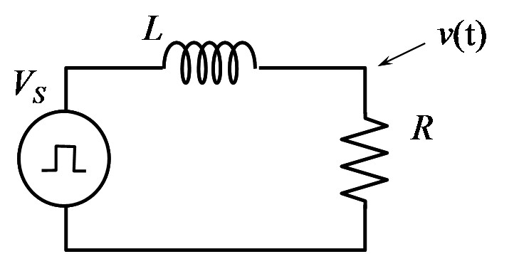 the following lr circuit